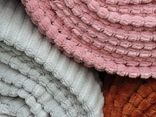 Katoenen rib fluweel tricot