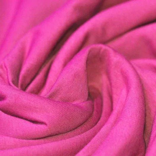 Uni viscose tricot midden roze 221 - Megastoffen.nl