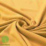 bamboe tricot oker
