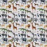 Safari dieren beebs tricot