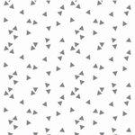 wit grijs triangel