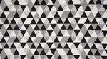 tricot triangel strak katoen
