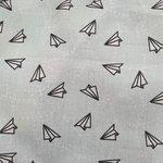 mint zwart origami planes