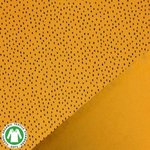 bio confetti oker mosterd zwart