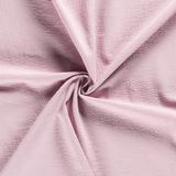 oud roze licht gewafelde uni katoen