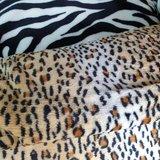 luipaard klein wellness fleece met zebra wellness fleece