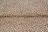 luipaard beigetinten katoen