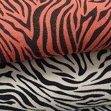 zandkleur en terracotta zebra tricot (2)