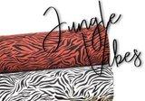 jungle vibes zebra