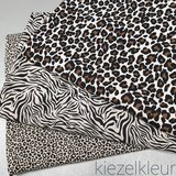 kiezel pantertje zebra en panterprint