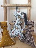 knuffels van frutsels teddy katoen digitale jungle katoen, swessie sterrenkatoen en luipaard katoen (1)