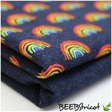regenboogjes en uni jeans jersey BEEBS