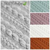 BEEBSstofjes kabeltricotjacquard