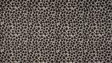 beige kiezel zwart luipaard poplin