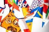 vlaggenlijn EK Holland en Europa