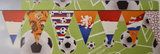 holland soccer garland