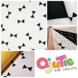 wit zwart reuzen triangel - strik - strikken_
