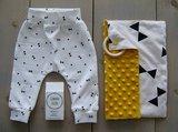 triangeltjes tricot versus strikken en oker minky @gewoonellen