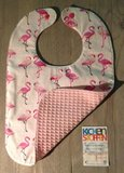 slabbetjes roze wafel met flamingo @gewoonellen (2)