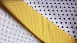 wit zwarte nop en stipje versus gele wafel