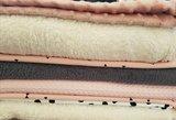 grijze wellness fleece met ander stoffen