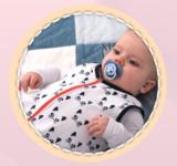 baby slaapzak patroon_