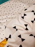 strikken versus triangelsjes tricot exclusief bij KicKenStoffen