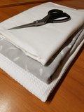 wafel wit hydrofiel licht grijs en flanel wit