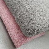 badstof licht roze en licht grijs