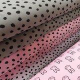 army roze painted dots en konijntje