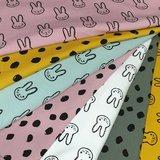 painted dots en konijntjes BEEBS