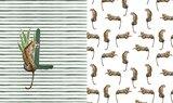 paneel digitaal luipaard