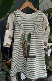 jurkje gemaakt voor meisje met L als voorletter
