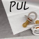 grijs PUL waterdichte - waterafstotende stof_