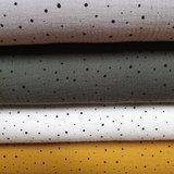 confetti hydrofiel oker army off white en grijs