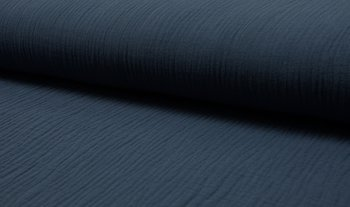 jeans blauw uni hydrofiel