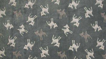 taupe donker - beige bambi Knuffel fleece