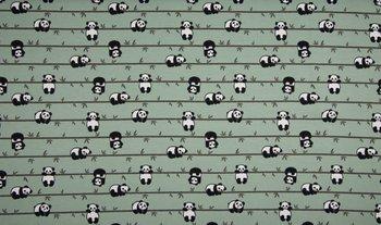 dusty groen panda zwart