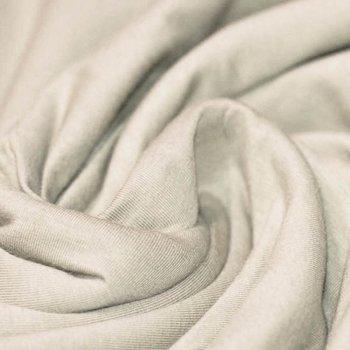 beige (kiezel) uni - tricot