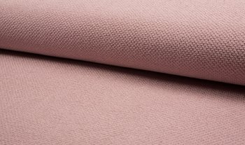 oud roze (licht) boucle baby wafel-badstof