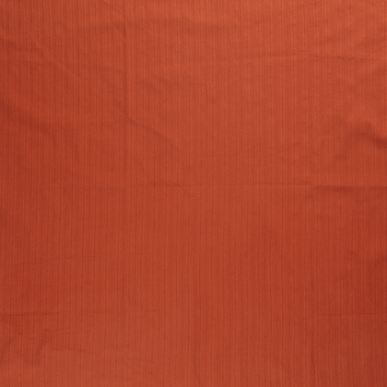terracotta roest twill strepen uni katoen