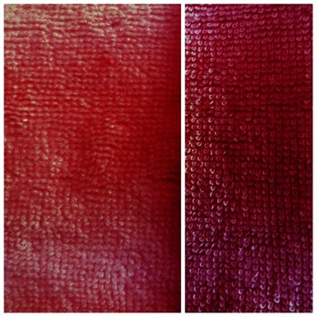 donker rood bordeaux bamboe katoen fleece