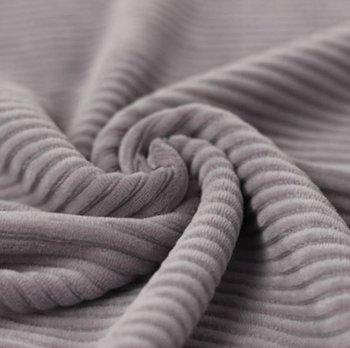 grijs katoenen ribfluweel tricot