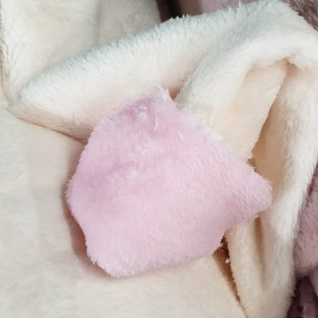 licht roze off white wellness fleece (op=op)