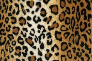 cognac bruin zwart creme luipaard groot wellness fleece