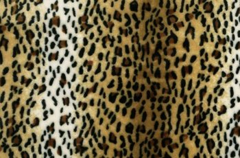 cognac bruin zwart creme luipaard klein wellness fleece