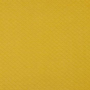 geel mosterd/oker wafeltjes gevoerde tricot (op=op)