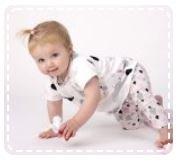 baby legging patroon maat 50 t/m 74