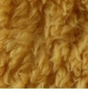 ocher fluffy teddy