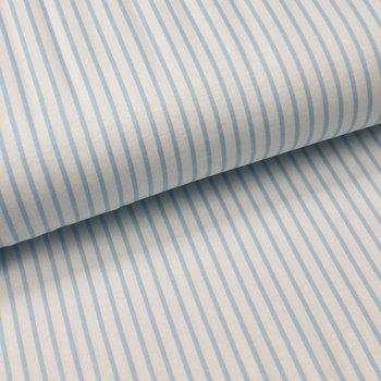 licht blauw witte streepjes - tricot (op=op)